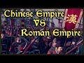Roman Empire Vs The Chinese Empire Who Would Win? - Total War: Attila Mod Gameplay
