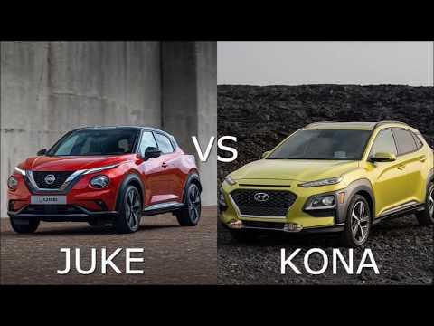 2020 Nissan JUKE vs 2019 Hyundai KONA