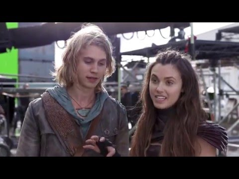 (Poppy Drayton France) Behind The Scene The Shannara Chronicles 1x06