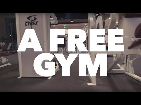 Looking for a gym? Community employees get one for free!