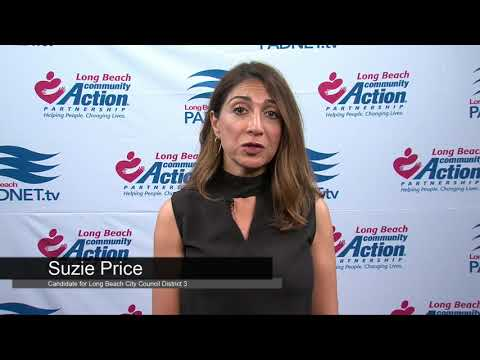 Suzie Price - Council District 3 Candidate - 2018 Long Beach Primary