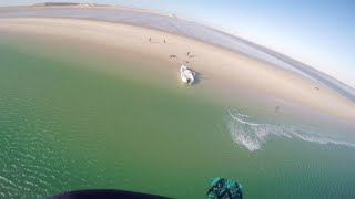 Extreme kitesurfing - Gopro Hero 4