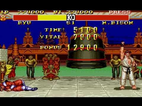 BETA Street Fighter II Turbo (ST2 Turbo Sega Genesis MD) Ryu Longplay