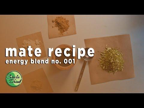 Mate Recipes: Energy Blend no.001 (maca, cacao, guarana)