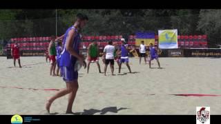 LegionXXI - Полтава (обзор голов) Пляжный гандбол, мужчины Чемпионат Украины