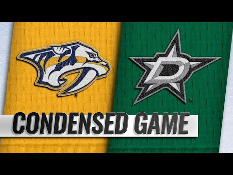02/19/19 Condensed Game: Predators @ Stars