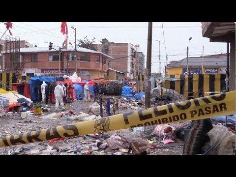 Gas Tank Explosion Kills 8 in Bolivian Carnival City