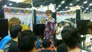 Saki Aibu says goodbye - Day 3 ax