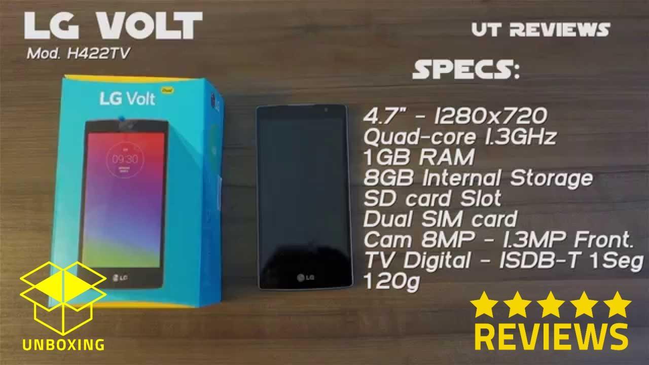 Smartphone LG Volt H422 TV análise e review - LG Electronics - LG .