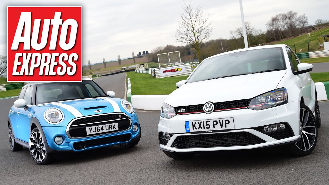 New Vw Polo Gti Vs Mini Cooper S Hot Hatch Showdown Youtube