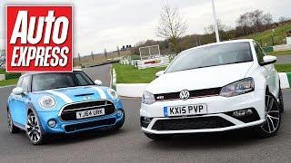 New VW Polo GTI vs MINI Cooper S: hot-hatch showdown