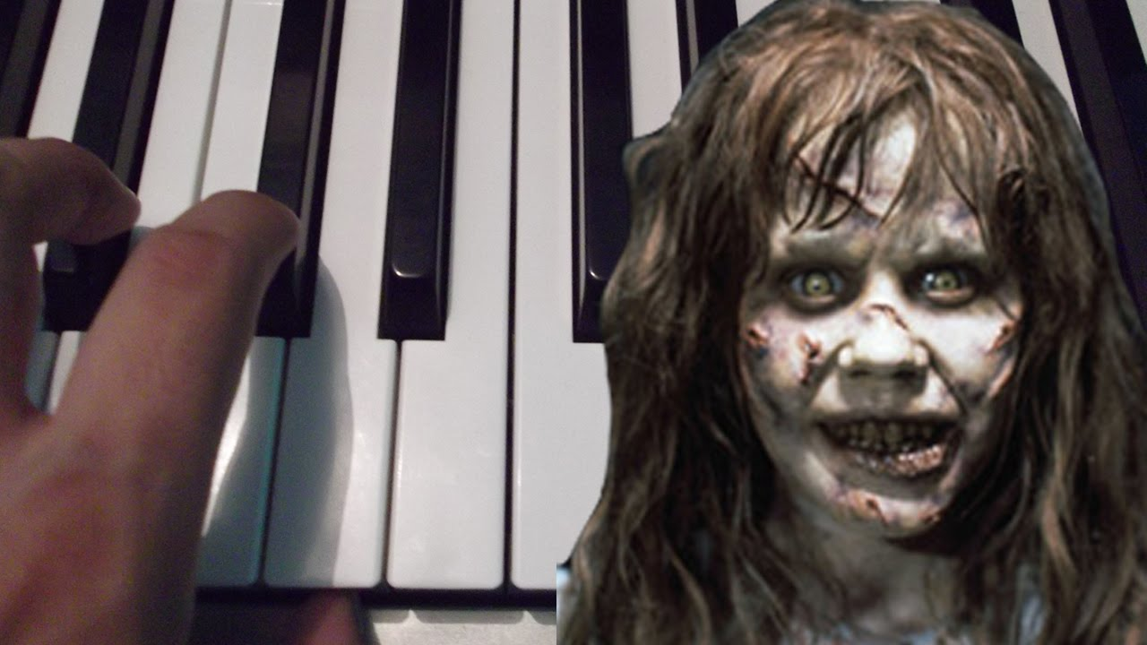 El Exorcista The Exorcist Piano Tutorial Notas Musicales Youtube