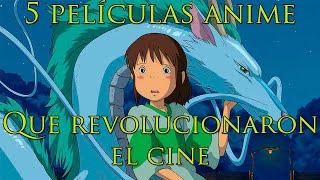 6 Películas anime que revolucionaron y cambiaron para siempre el cine.