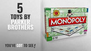 Top 10 Parker Brothers Toys [2018]: Monopoly - Board Game by Parker Brothers