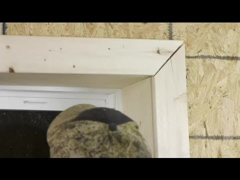 How To Cut Amp Install Window Trim Trim Installation