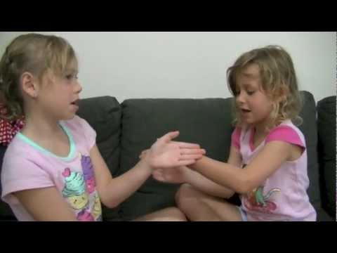 """ Tic Tac Toe "" Hand clapping game demonstration"