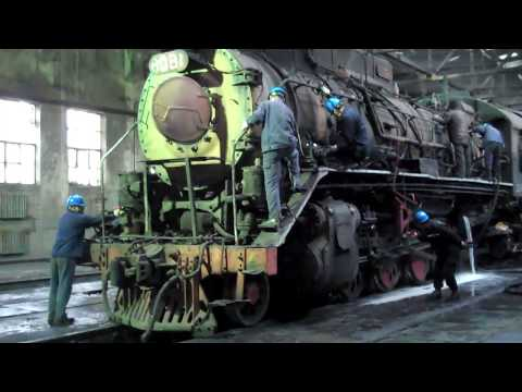 China's Last Steam Locomotive Shed - Sandaoling 2017 - Not As Cold As Last Time