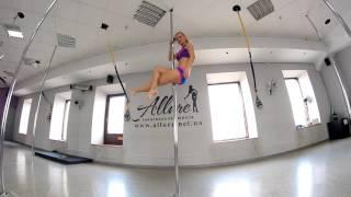 Poledance видеоурок Срыв Соколовой, луки стрелы, пегас Яценко Анна