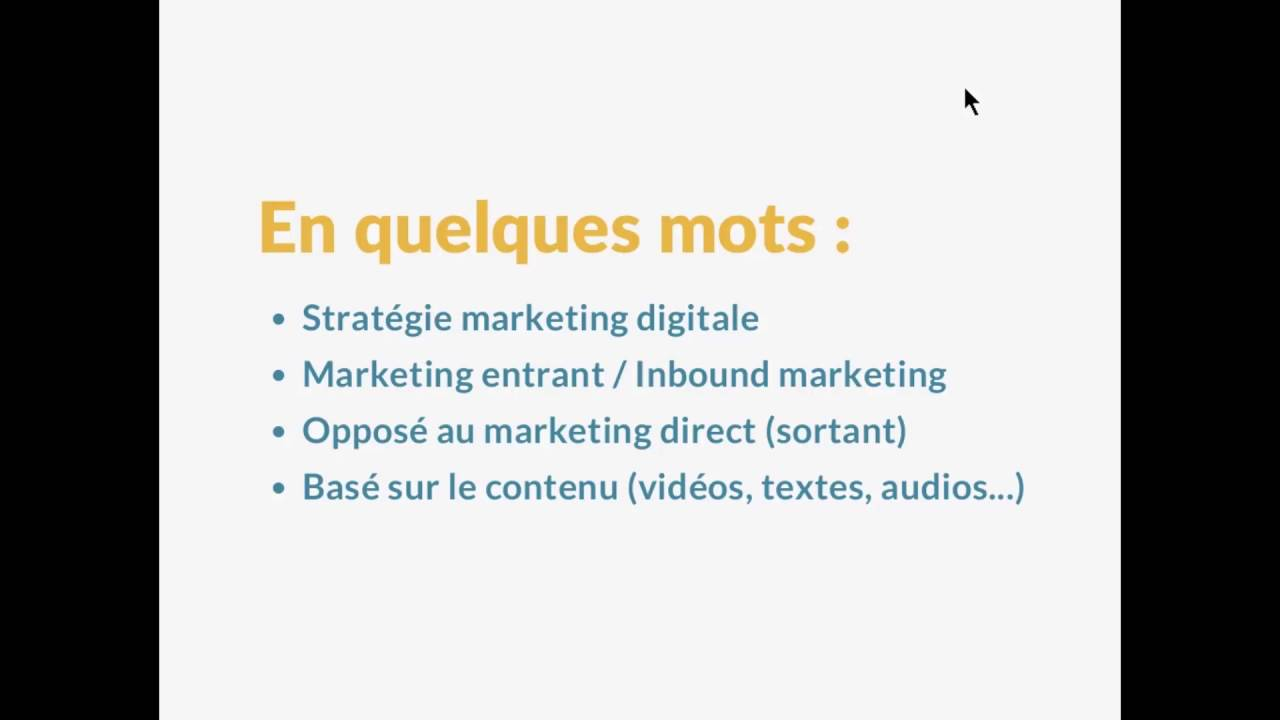 Content Marketing - Définition