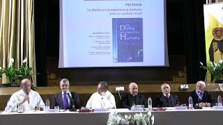 """Presentación libro """"Lo divino en la experiencia humana"""", de fr. Jesús Espeja, OP"""
