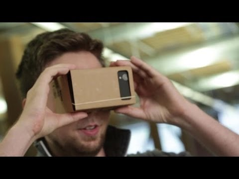 Hands On With Google's Incredibly Clever Cardboard Virtual Reality Headset