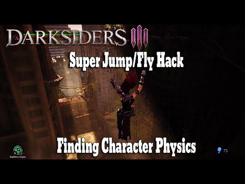 DARKSIDERS 3: Super Jump/Fly Hk| Finding Character Physics