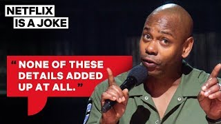 Dave Chappelle on the Jussie Smollett Incident | Netflix Is A Joke