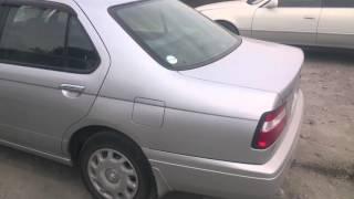 Видео-тест автомобиля Nissan Bluebird (U14, 1999г, Qg18de, серый)
