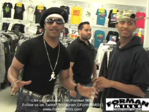 Celebrities Shopping at Forman Mills feat  Kangol Kid 2013