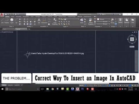 Fix Missing Image Problem In AutoCAD
