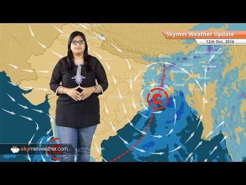 Weather Forecast for Oct 12: Rain in Chennai, Karnataka, Northeast, comfortable weather in Delhi