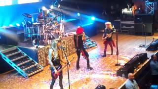 Steel Panther - 17 Girls In A Row, Wolverhampton Civic Hall, with me on lead guitar!