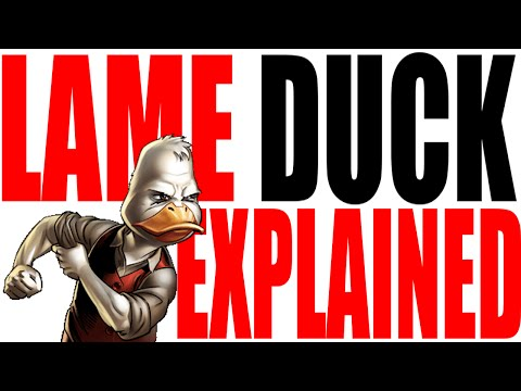 The Lame Duck Explained