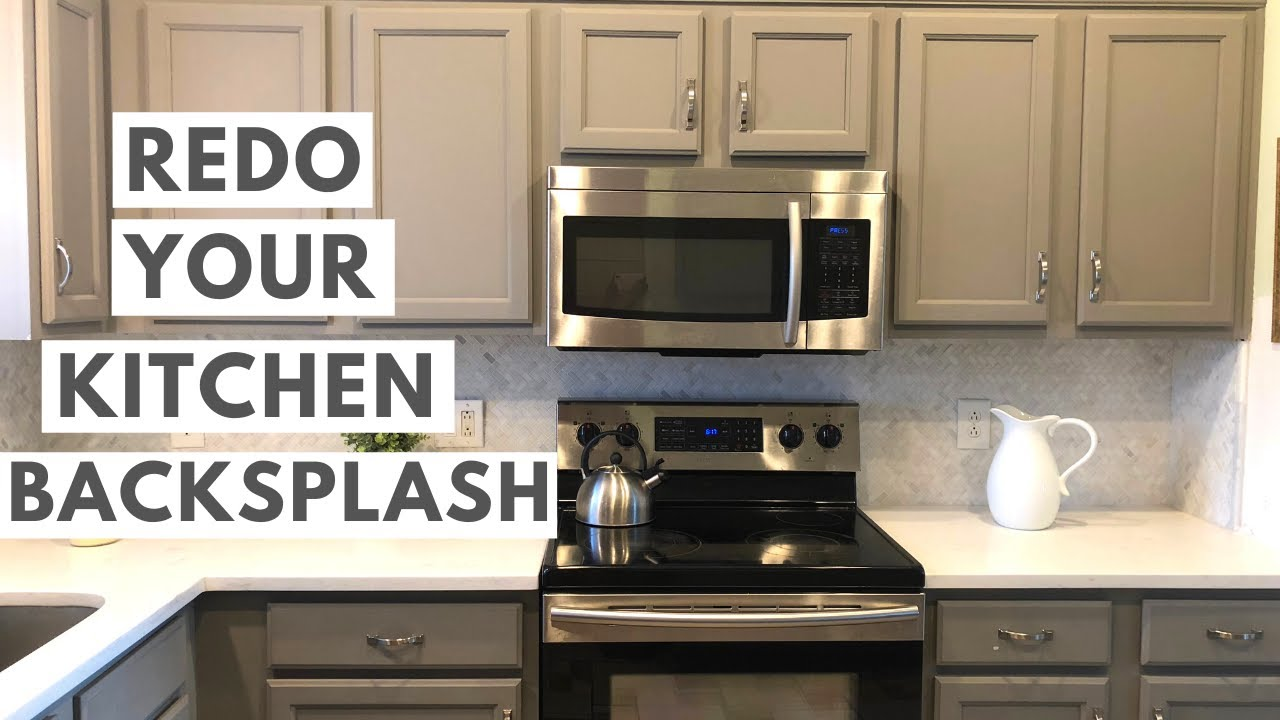 Installing New Carrara Marble Backsplash A Complete Kitchen Renovation Youtube