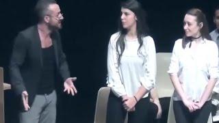 Tiyatro Artiz Mektebi diksiyon hocası BMKM