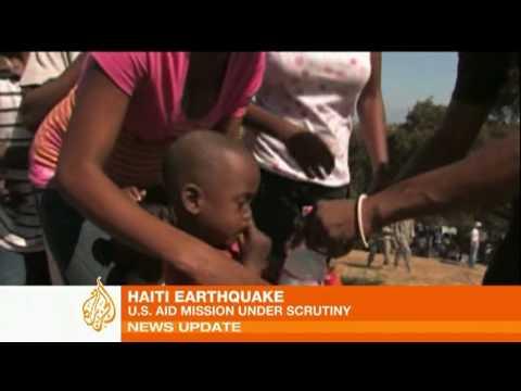 Haiti earthquake - U.S. aid mission