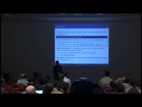 ICAPS 2012 Community Meeting Part 2