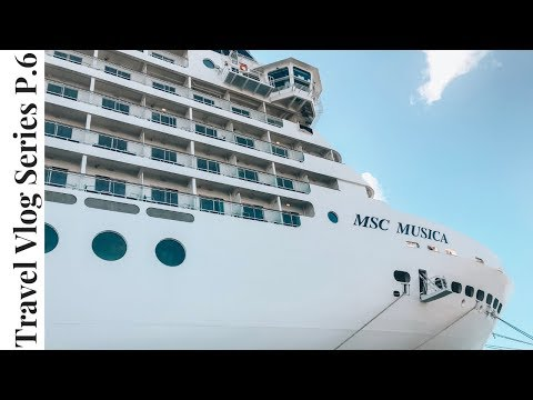 MSC Musica CRUISE South Africa TRAVEL VLOG Part 6 | THE ART GALLERY | MICASA | Vlog Mashup Micasa