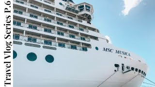 MSC Musica CRUISE South Africa TRAVEL VLOG Part 6 | THE ART GALLERY | MICASA | Vlog Mashup Micasa
