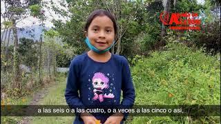 Colombia y apadrinamiento en tiempos de COVID-19: la historia de Eliana