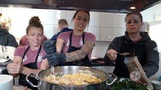 Kochen mit der Frauen-Nationalmannschaft