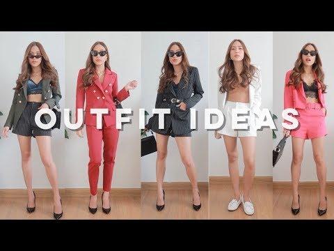 6 วิธีใส่บรา แมทช์ กับ Blazer  Outfit ใส่เสื้อสูท