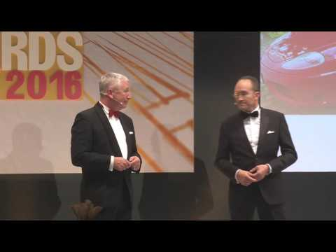 Druck&Medien Awards 2016 in Berlin: Die Eröffnung der Gewinner-Gala im Hotel Grand Hyatt in Berlin