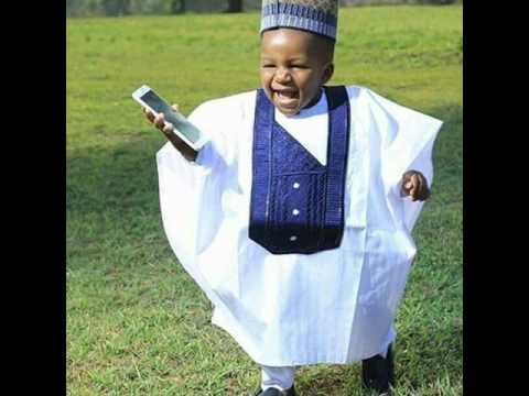 Adorable Agbada Styles for Kids
