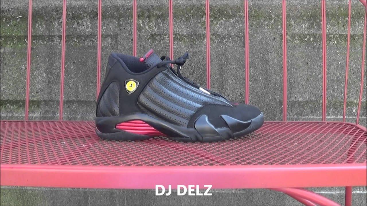 13fa9963f4f5d5 Air Jordan Last Shot 14 Sneaker Review + On Foot With  DjDelz - YouTube