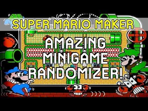 The Amazing Minigame Randomizer! - Super Mario Maker Level Showcase