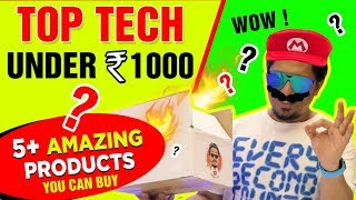 Top Tech Gadgets Under Rs.1000 - from AMAZON India