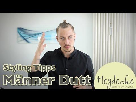 Man Bun - Männer Dutt - Top Knot Styling Anleitung - Dominiks Styling Tipps