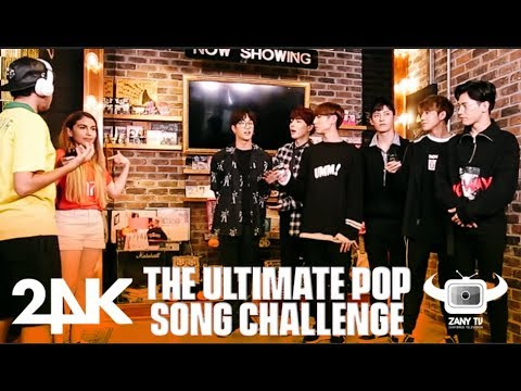 KPOP IDOLS 24K DOES LATIN & KPOP SONG CHALLENGE