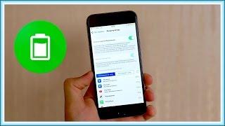 Быстро разряжается iPhone или iPad на iOS 10? Решение есть!(, 2016-12-04T15:00:04.000Z)